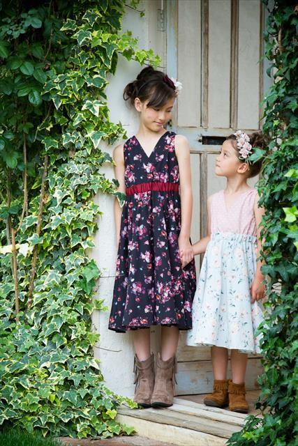 ベビードレスやキッズドレスで女の子のおしゃれを応援!